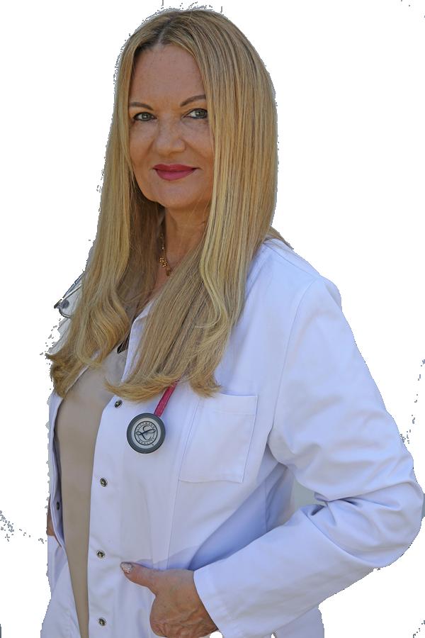 Die Fachärztin für Allgemeinmedizin der Praxis am Kuniberg
